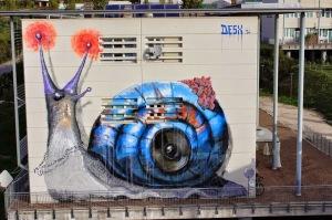 DesX, %22Audio Snail%22