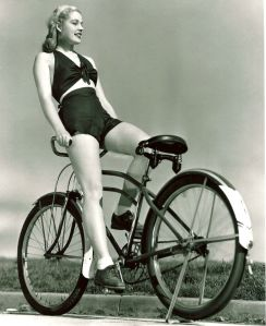 Mary Beth Hughes Rides a Bike, 1939 (1)