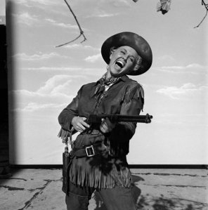 Vintage Photos of  Girl with Pistol (11)