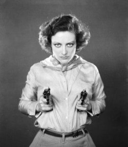 Vintage Photos of  Girl with Pistol (18)