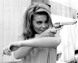 Vintage Photos of  Girl with Pistol (33)