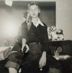 Vintage Photos of  Girl with Pistol (38)