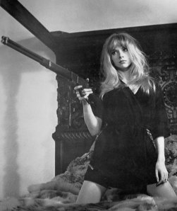 Vintage Photos of  Girl with Pistol (39)