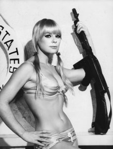 Vintage Photos of  Girl with Pistol (45)